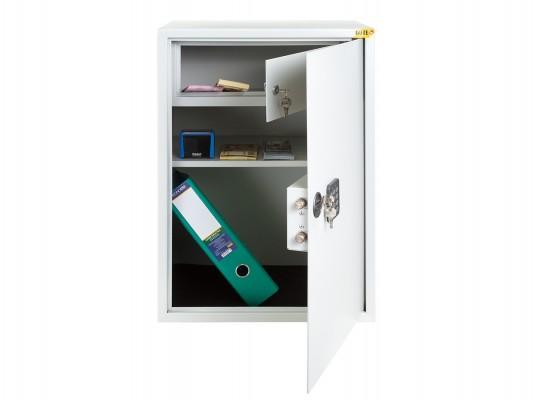 Бухгалтерский сейф с кассовым отсеком | Электронный кодовый замок